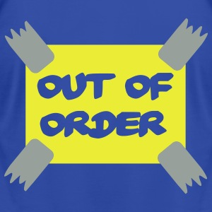 Royal blue Out of order - Office Hoodies - Men's T-Shirt by American Apparel