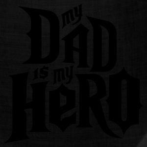 Black My Dad is my Hero T-Shirts - Bandana
