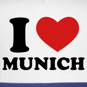 White I Love Munich Women's T-Shirts - Trucker Cap