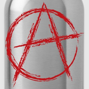 Black anarchy symbol T-Shirts - Water Bottle