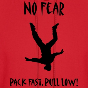 Red No Fear Pack Fast Pull Low T-Shirts - Men's Hoodie