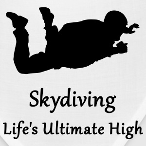 Gold Skydiving Life's Ultimate High T-Shirts - Bandana
