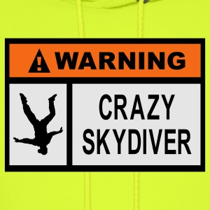Gold Warning Crazy Skydiver T-Shirts - Men's Hoodie