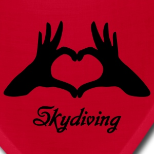 Red Love Skydiving Women's T-Shirts - Bandana