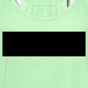 Bright green rectangle T-Shirts - Women's Flowy Tank Top by Bella