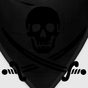 Pirate flag T-shirt - Bandana