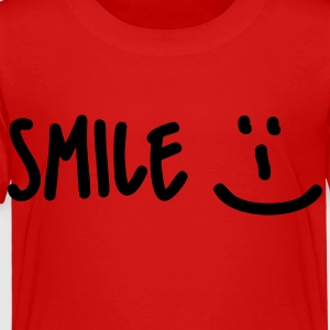 Red Smile Kids' Shirts - Toddler Premium T-Shirt