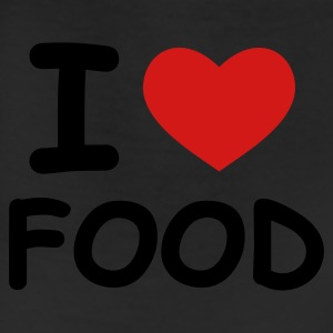 White I Love Food T-Shirts - Leggings