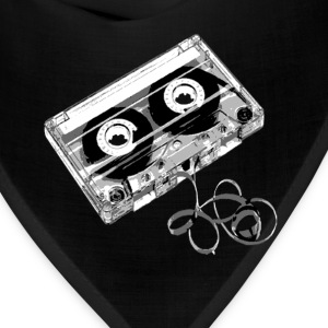 Deep heather cassette_tape_exposed Women's T-Shirts - Bandana