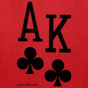 Ace King Poker Shirt - Tote Bag