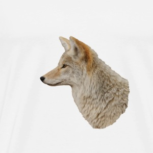 Coyote Portrait - Men's Premium T-Shirt