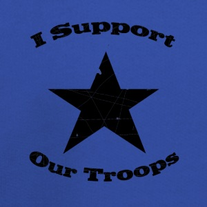 Royal blue support our troops T-Shirts - Kids' Premium Hoodie
