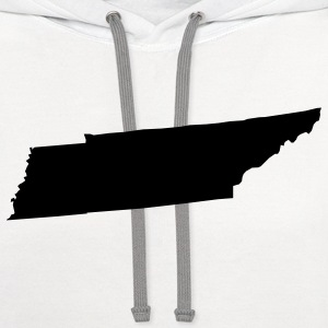 White tennessee Women's T-Shirts - Contrast Hoodie