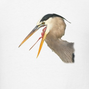 Heron, Exposed - Men's T-Shirt