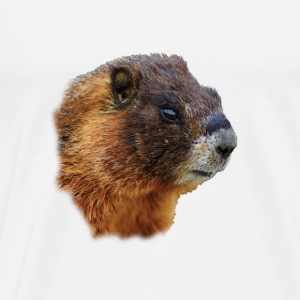 Marmot, Portrait - Men's Premium T-Shirt