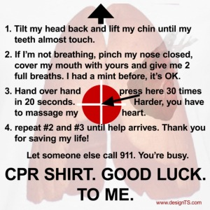 CPR Shirt - Men's Premium Long Sleeve T-Shirt