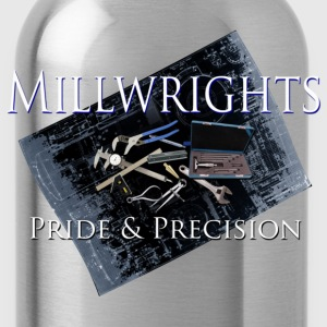 millwright_pride__precision T-Shirts - Water Bottle