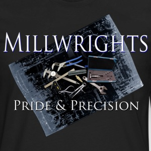 millwright_pride__precision T-Shirts - Men's Premium Long Sleeve T-Shirt