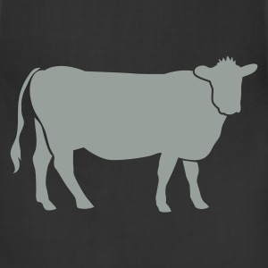 Black COW BEEF one color T-Shirts - Adjustable Apron