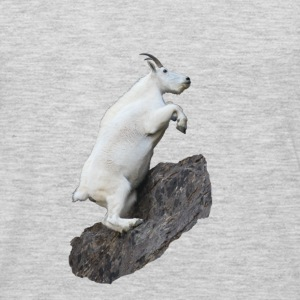 Mountain Goat, Rock Climbing - Men's Premium Long Sleeve T-Shirt