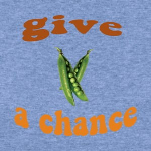 Give Peas a Chance - Women's Wideneck Sweatshirt