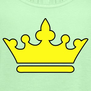 Forest green KINGS CROWN prince princess or Queen T-Shirts - Women's Flowy Tank Top by Bella