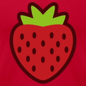 STRAWBERRY - Men's T-Shirt by American Apparel