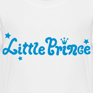 White Little Prince Kids' Shirts - Toddler Premium T-Shirt