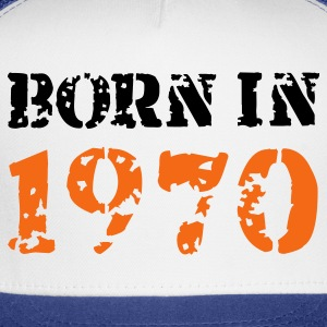 White Born in 1970 T-Shirts - Trucker Cap