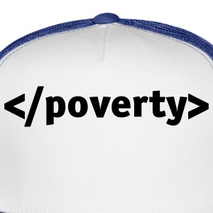 White End Poverty (1c) Women's T-Shirts - Trucker Cap