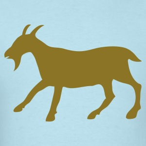 Powder blue the golden goat Baby Body - Men's T-Shirt