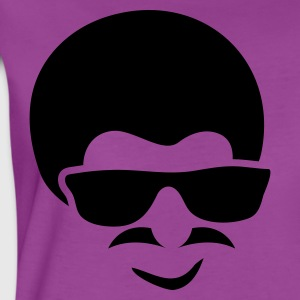 Light pink AFRO MUSTACHE GLASSES MAN RETRO Baby Body - Women's Premium T-Shirt