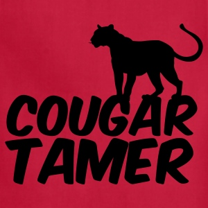 Red COUGAR TAMER T-Shirts - Adjustable Apron