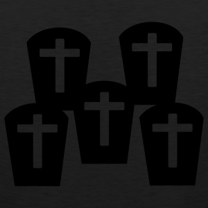 Black Cemetary - Grave Women's T-Shirts - Men's Premium Tank