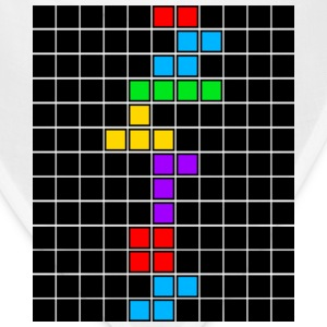 White tetris_game_over3 Women's T-Shirts - Bandana