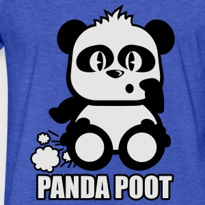 Royal blue Panda Toot Sweatshirts - Fitted Cotton/Poly T-Shirt by Next Level