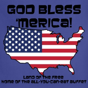 God Bless 'Merica! - Womens - Adjustable Apron