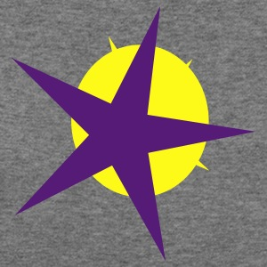 Star and Sun - Women's Wideneck Sweatshirt