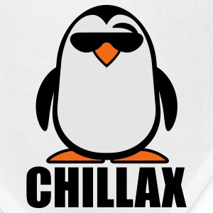 Sky blue Chillax Penguin T-Shirts - Bandana