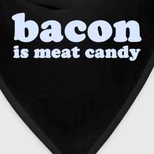 Navy baconmeatcandy_lightblue T-Shirts - Bandana