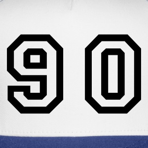 White Number - 90 - Ninety T-Shirts - Trucker Cap