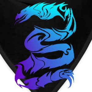 Sharp Blue Dragon - Bandana