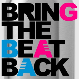 Black Bring The Beat Back T-Shirts - Water Bottle