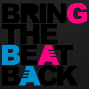 Black Bring The Beat Back Sweatshirts - Men's Premium Tank