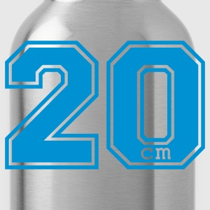 Red 20 centimeter T-Shirts - Water Bottle