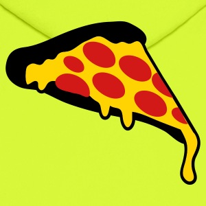 Gold pizza slice pepperoni T-Shirts - Men's Hoodie