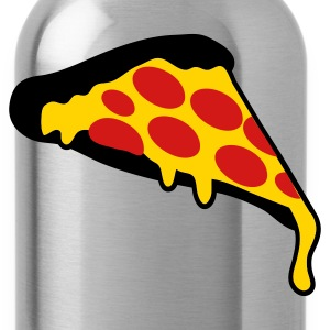 Gold pizza slice pepperoni T-Shirts - Water Bottle