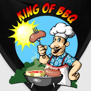 King of bbq T-Shirts - Bandana
