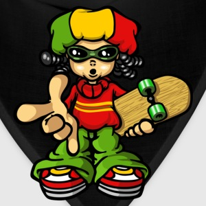 Reggae boy and skate T-Shirts - Bandana