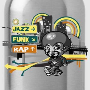 Funky Town T-Shirts - Water Bottle